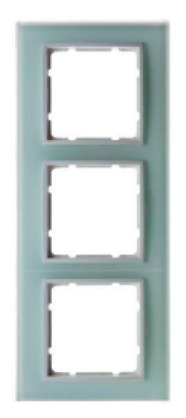 Berker B.7 Glasrahmen 3-Fach polarweiß 10136909