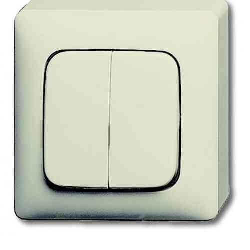 busch jaeger aufputz lichtschalter elektrohandel hauschild. Black Bedroom Furniture Sets. Home Design Ideas