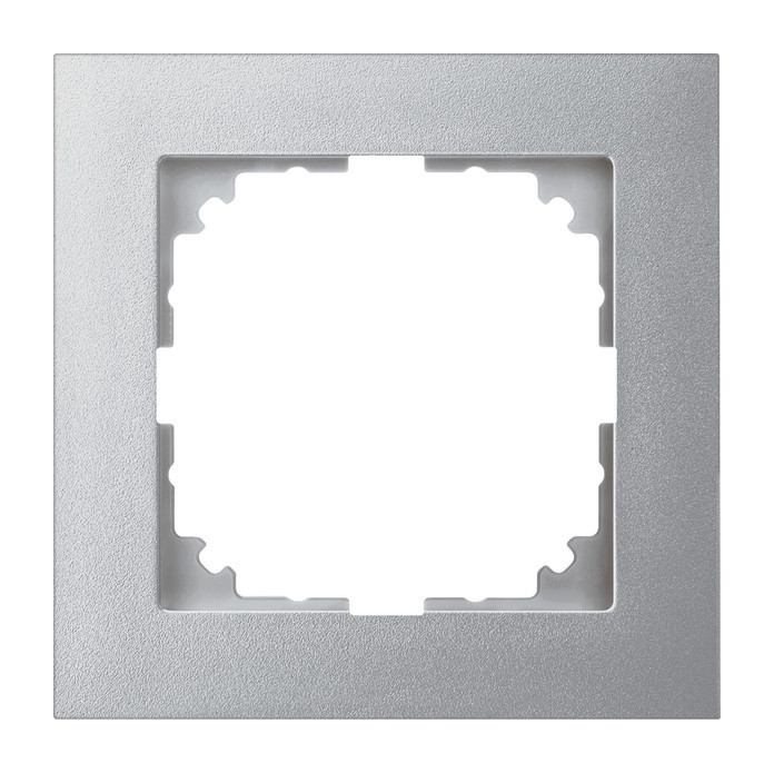 Merten Rahmen 1fach M-Pure aluminium MEG4010-3660 Elektrohandel