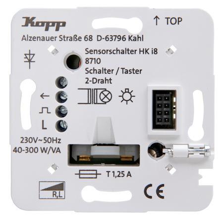 Kopp HKi8 Leistungsteil Schalter Taster 2-Draht-Anschluss