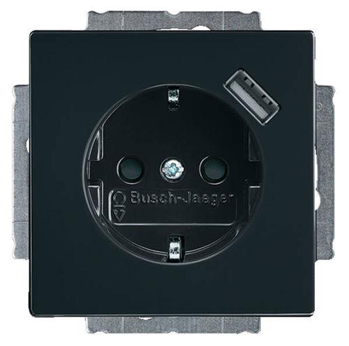 busch jaeger carat farbton anthrazit elektrohandel hauschild. Black Bedroom Furniture Sets. Home Design Ideas